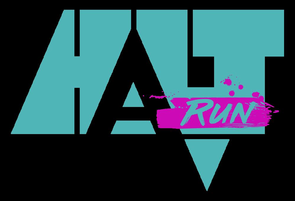 HALT RUN - FÑrg Transp-vitMellan